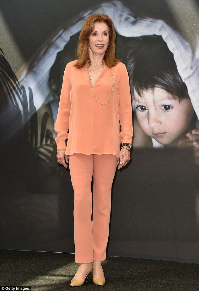 Youthful: Stephanie Powers is still looking her absolute best - as she proved when she att...