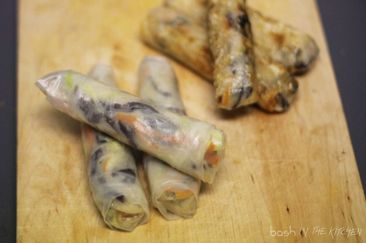"""Jar síce nie je ešte ani pred dverami, no jarné rolky si """"balím"""" aj v zime. V ostatnej dobe varíme dosť často ázijskú kuchyňu. Väčšinou..."""