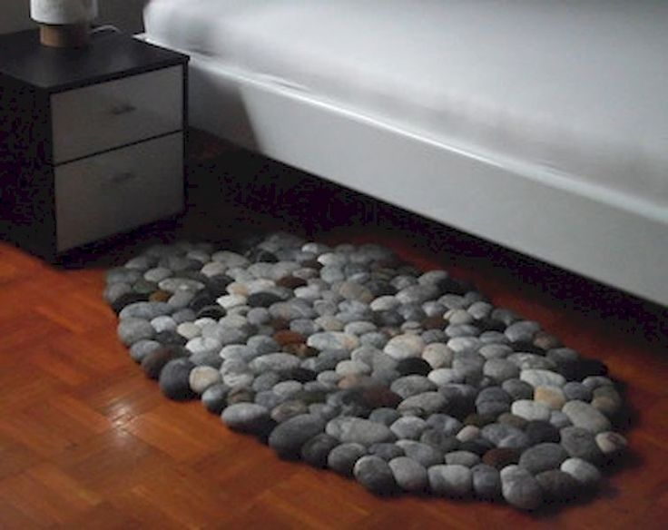 55 Magnificent Diy Felt Stone Rug To Stand Out Your Home