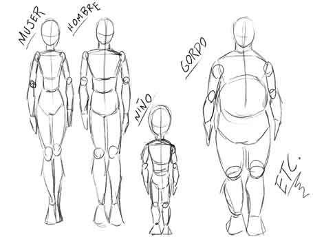 Taller de Manga jesulink personajes mutante