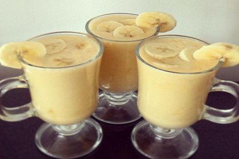 Nápoj z banánů a skořice hodinu před spaním vám přinese sladké sny