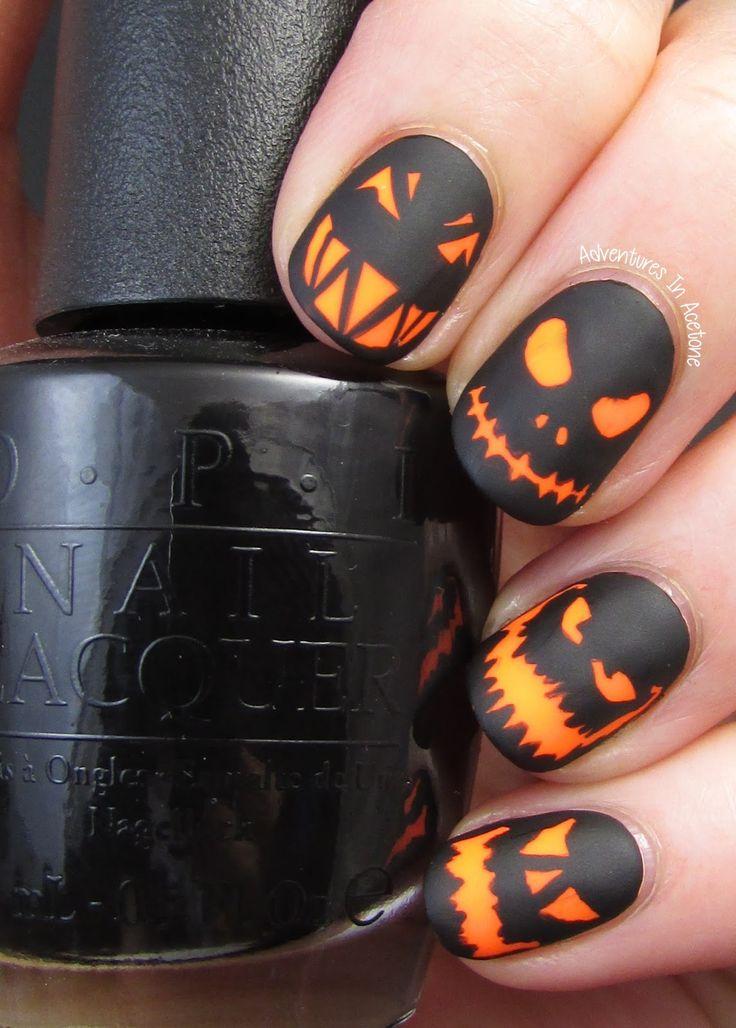 #NailArt spécial Halloween - #vernis - #manucure