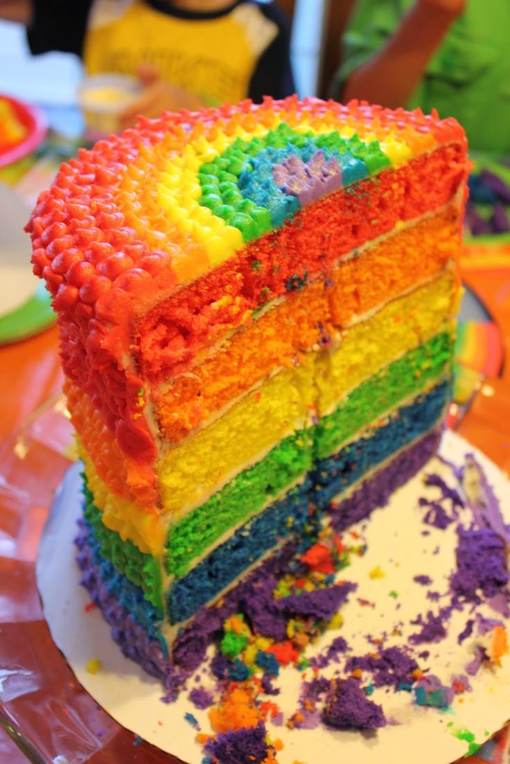 One Lucky Mama: Rainbow Party