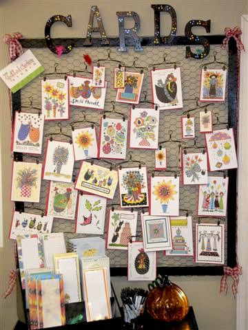 52 best Displaying Cards images on Pinterest | Booth ideas, Card ...