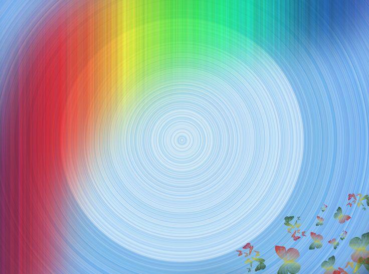 rustige regenboog-vlinder achtergrond