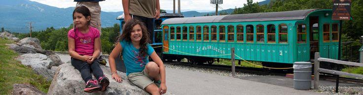 Ticket Rates & Schedule: The Mount Washington Cog Railway