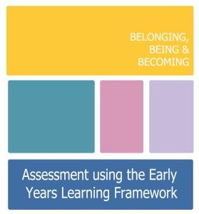 Assessment documents using the Early Years Learning Framework (EYLF)