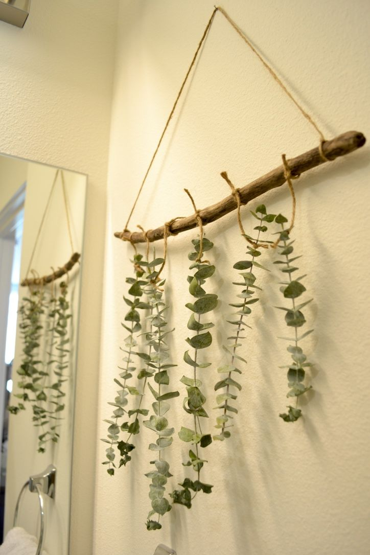 DIY // Hanging Dried Eucalyptus | Essentially Bre #Blog #Eucalyptus #DIY