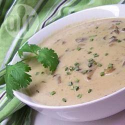 Rich Creamy Mushroom Soup @ allrecipes.com.au