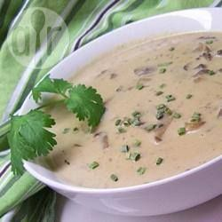 Champignon crème soep @ allrecipes.nl