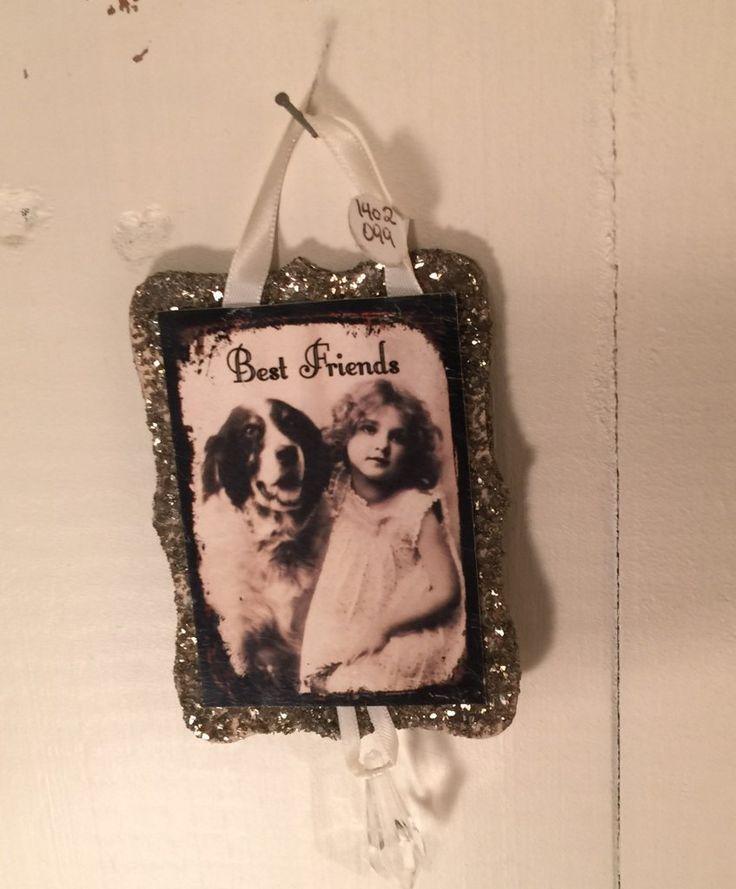 Best Friends Glitzy Ornament - $4.50