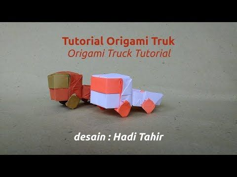 Origami Harri Hadi: Tutorial Origami Truk/Truck