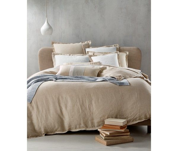 Hotel Collection Linen Natural Duvet Covers, Only at Macy's - Duvet Covers - Bed & Bath - Macy's