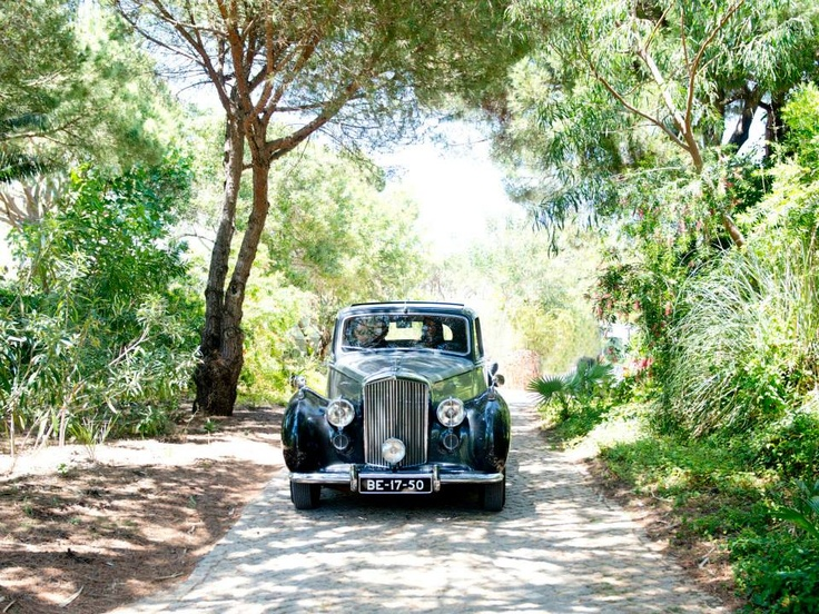 Entrance villa wedding Vilamoura Algarve Portugal by Algarve Wedding Planners | My Portugal Wedding