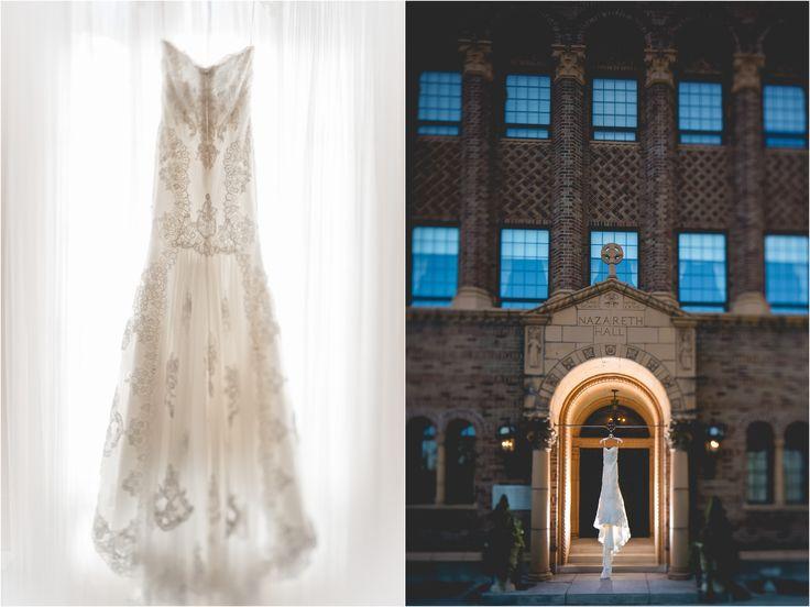 Angela & Chuck Wedding Day First Look: Nazareth Hall, Grand Rapids OH | Ben & Les Photography - Columbus Wedding Photographers