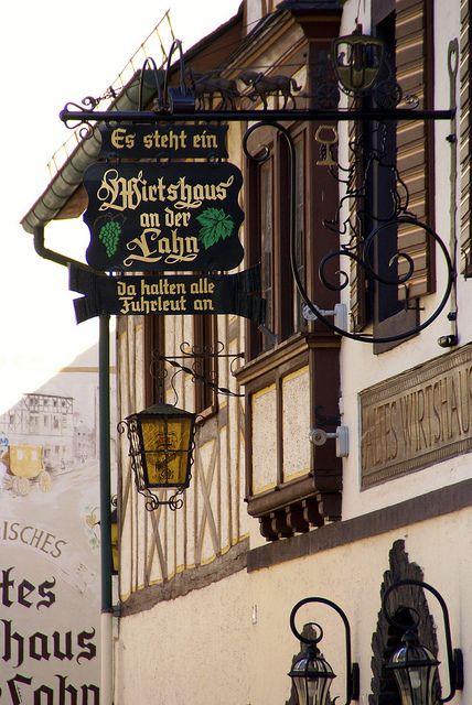 Dausenau an der Lahn, Germany