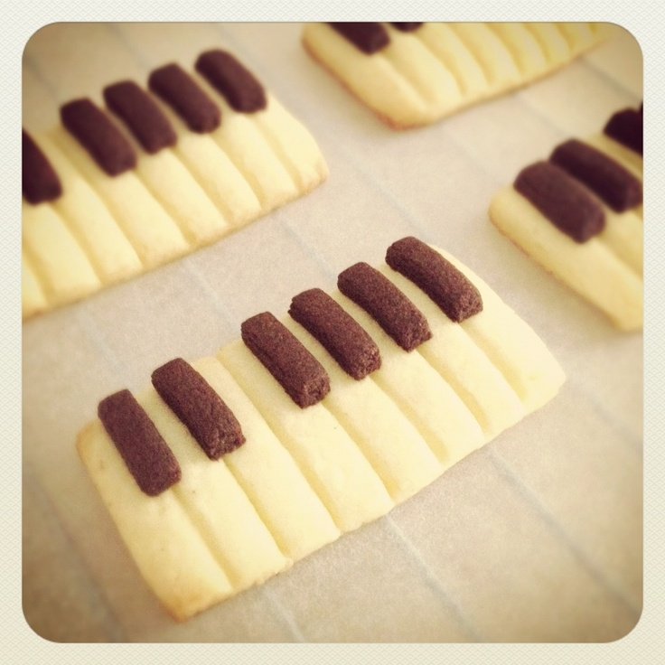 piano cookie