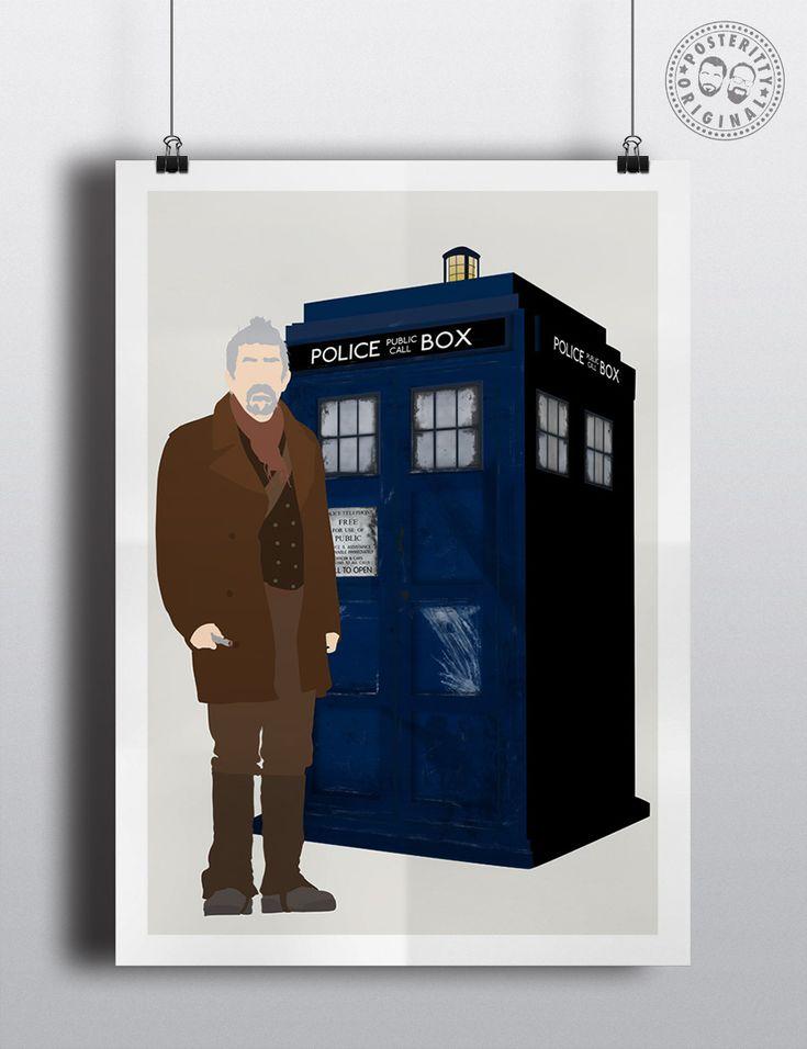 #minimalist #poster #posteritty #fanart #whovian #drwho #doctorwhol #war #doctor #tardis