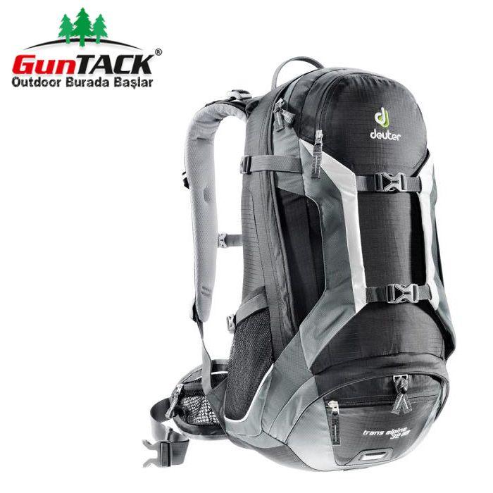Deuter Trans Alpine Sırt Çantaları 32 Lt Geniş iç hacmi ve 1300 gram ağırlığı ile bisikletçilerin favori sırt çantası olmaya devam ediyor.  #outdoorgiyimveayakkabı #cantalar #sirtcantasi #deuter