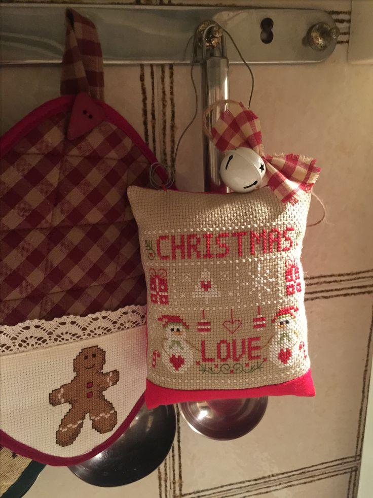 Natale punto croce ☃️