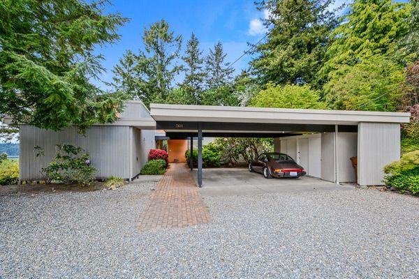 Mid Century Tacoma Washington Mid Century House Tacoma