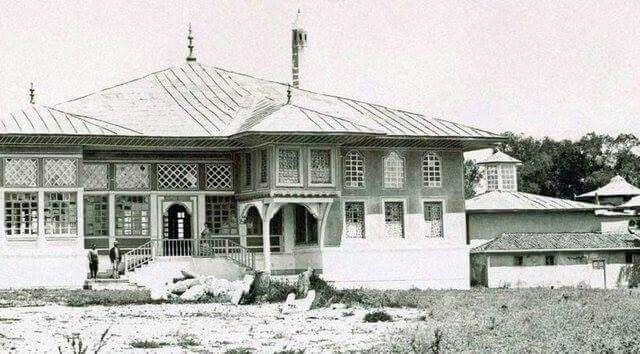 Edirne sarayi yikilmdan onceki hali 1870