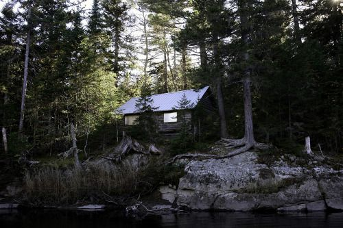 id wallet keychain Cabin on the Moose River near Jackman  Maine  Contributed by     Bach  Cabin Pinned by www modlar com