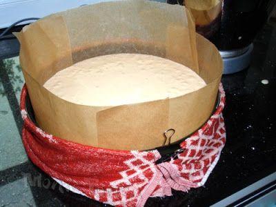 Tortentante - Der grosse Tortenblog mit Anleitungen, Rezepten und Tipps für Motivtorten: Kuchen gleichmäßig hoch backen ohne Hubbel in der Mitte