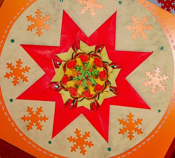 Christmas, tea bag folding