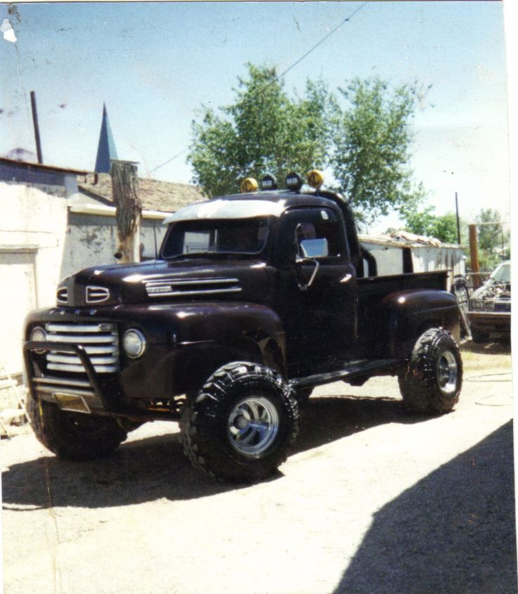 My 1950 ford f-1 4x4