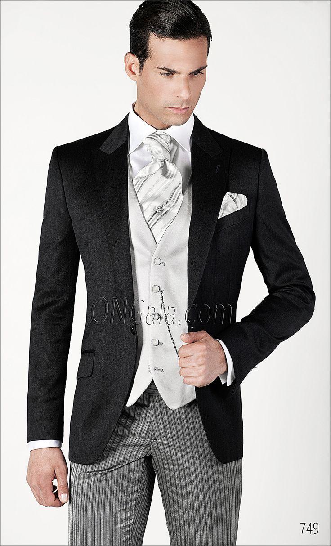 Abito da Sposo con giacca in pura lana grigio melange