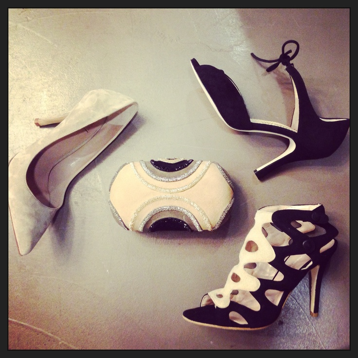 Shoes STRATEGIA and MINA BUENOS AIRES sandal LUCA VALENTINI clutch MALÌ PARMI
