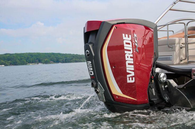 Evinrude eye candy outboard bennington pontoon boat
