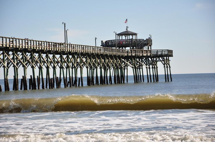 16 best cherry grove sc images on pinterest beach for North myrtle beach fishing pier