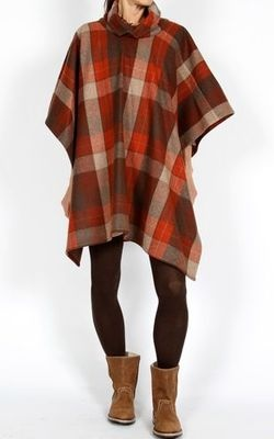 Cape style.  Would be even better with the great pendleton fabric you bought.