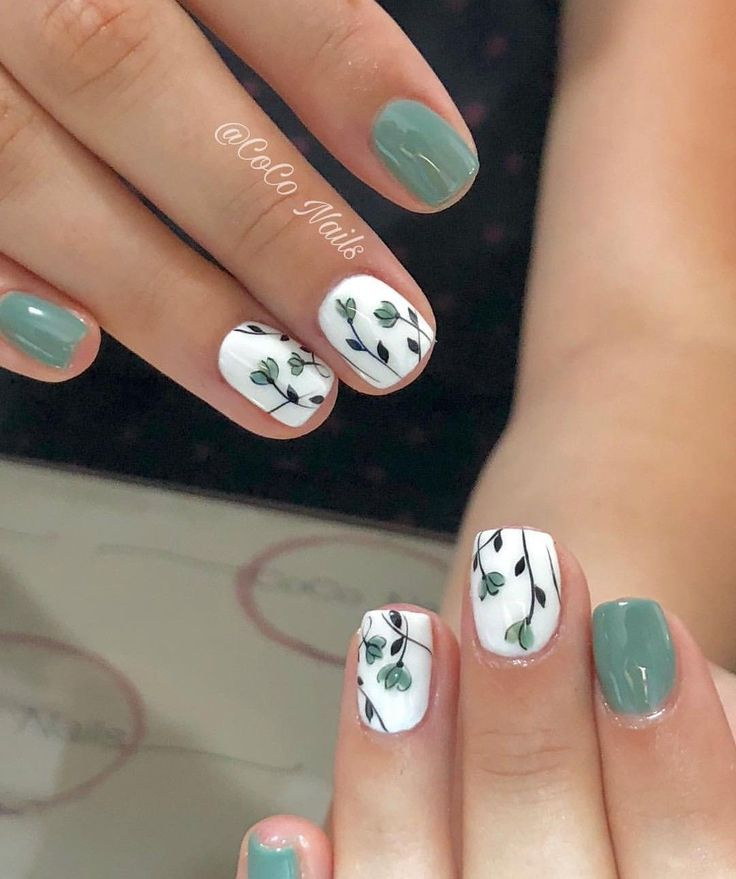 51 Simple Short Nail Art Design for Spring – Beauty
