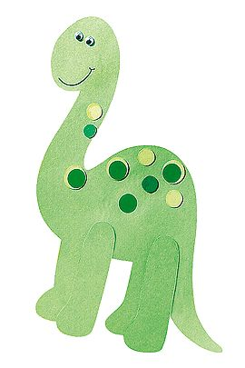 Die Dinos sind los - auf der Schultüte. Ganz einfach nachzubasteln und für Jungs ein echer Traum. Hier geht's zur Anleitung und kostenlosen Vorlagen. © Christophorus Verlag