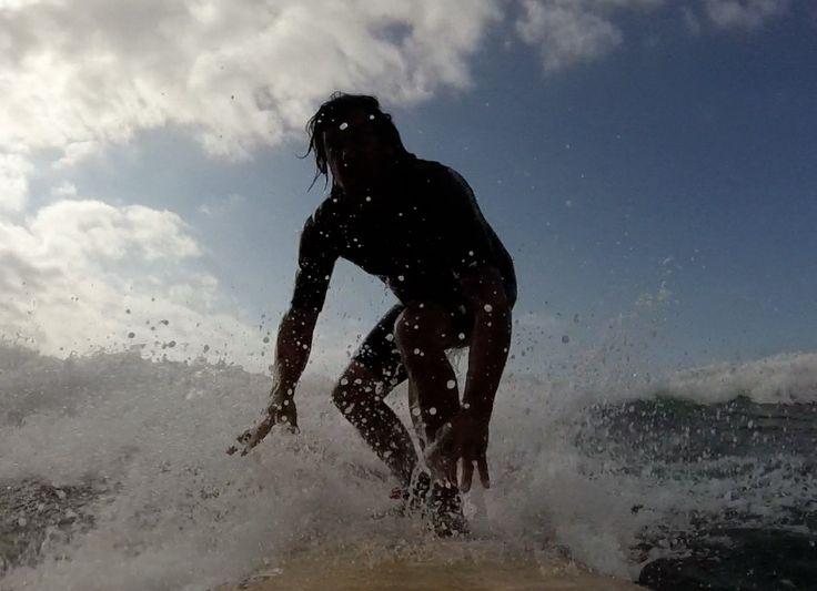 Davey go go surfing @Ninmiña