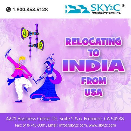 Sky2c offer #Relocation Service from #USA to #India on Following Cities : Bengaluru, Chennai, Hyderabad, Pune, Nagpur, Mumbai, New Delhi, Cochin, Ahmedabad, Surat, Visakhapatnam on affordable Rates