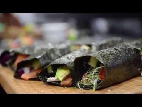 """Una receta con """"Alga Nori"""" para los amantes del sushi y para los que no lo son tanto, ya que voy a hacer unos con pescado crudo y otros con tofu. El alga """"No..."""