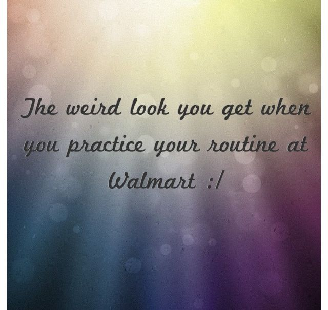 The weird look when... #dance #humor