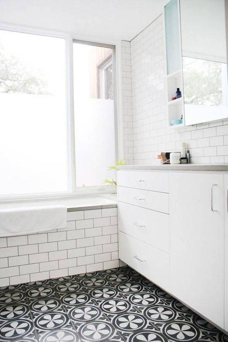 44 best bathroom images on pinterest bathroom ideas room and live bathroom floor bathroom tile ideas bathroom tile ideas black and white floor tiles