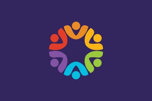 Community Logo Design Icon