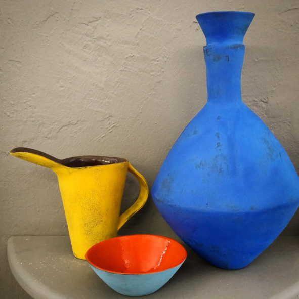 Colour Me Bright range by Clementina Ceramics