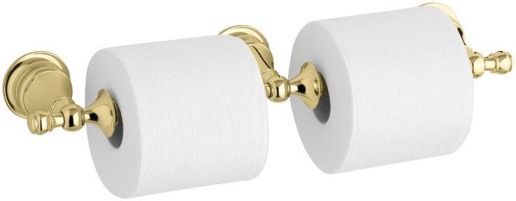 Revival Double Toilet Tissue Holder