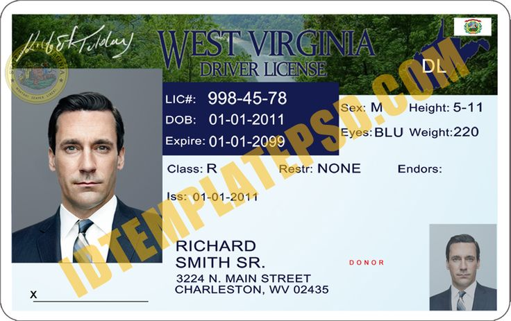 54 best images about novelty psd usa driver license for Wisconsin drivers license template