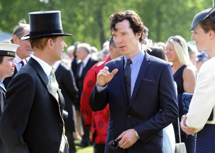 il principe Edoardo e Ben!