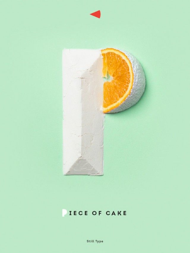 Piece of Cake Typography
