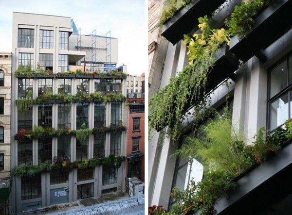 TRENDHOME: 7TH STREET DUPLEX IN FLOWERBOX BUILDING [NEW YORK]
