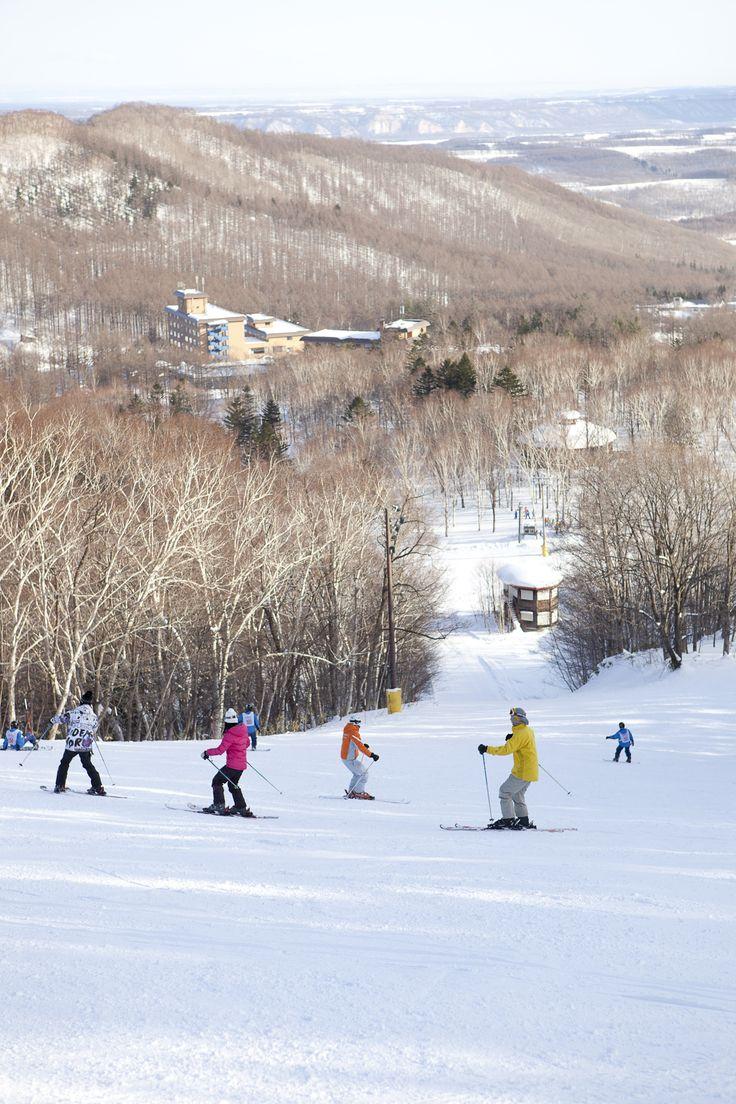 スキーレッスン♪ ボーゲンでトレイン Club Med Hokkaido